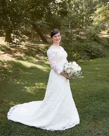 Bridal Portrait in Natural History Park