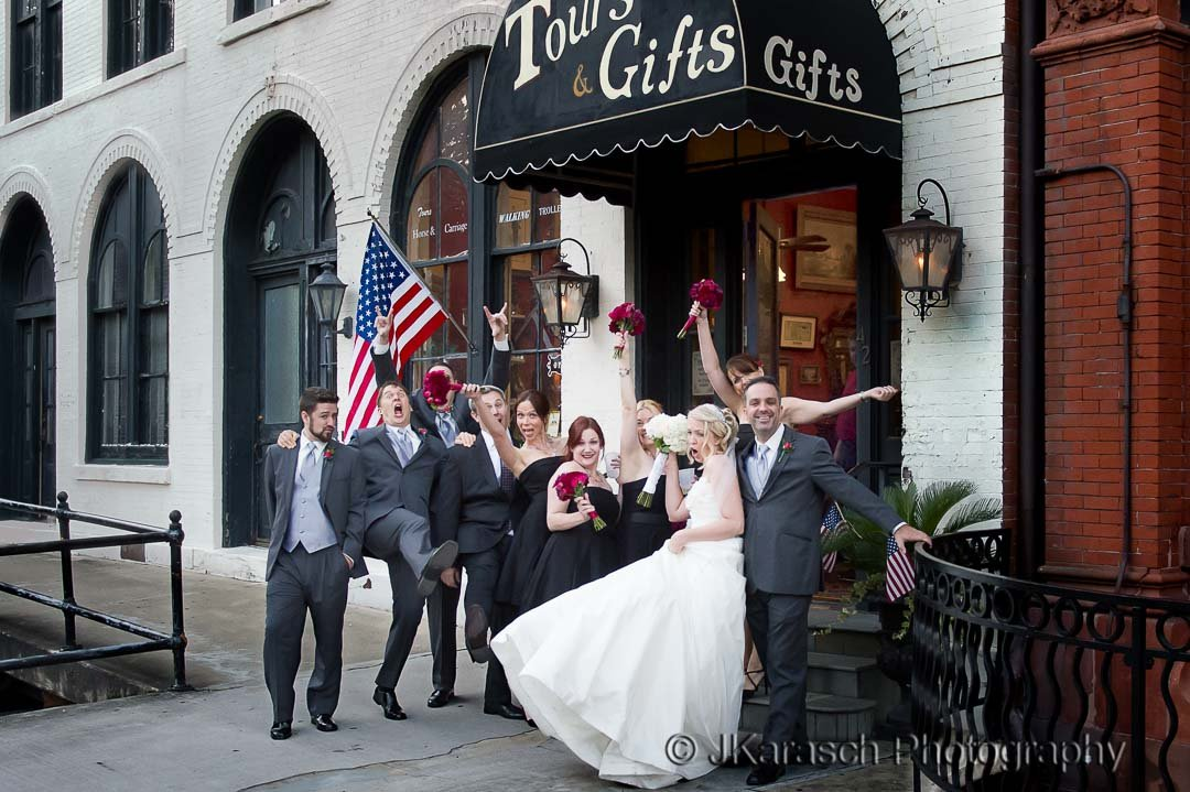 Vics on the River - Savannah Wedding