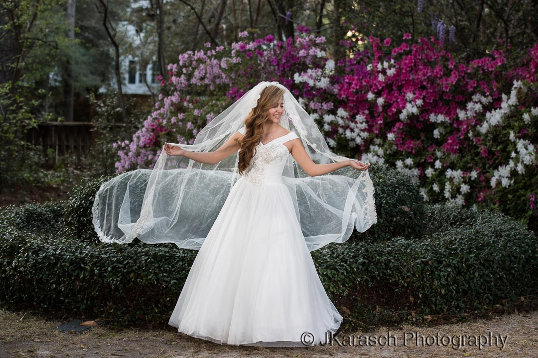 Bride at Rose Hill Estate