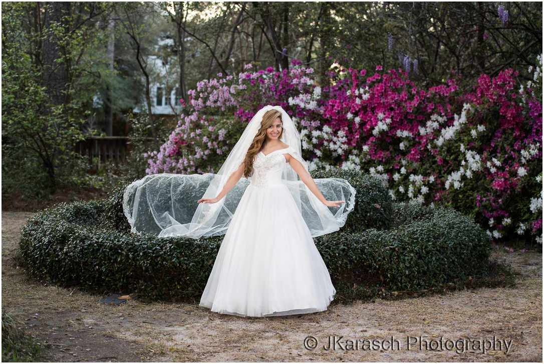 Bridal Portrait at Rose Hill Estate