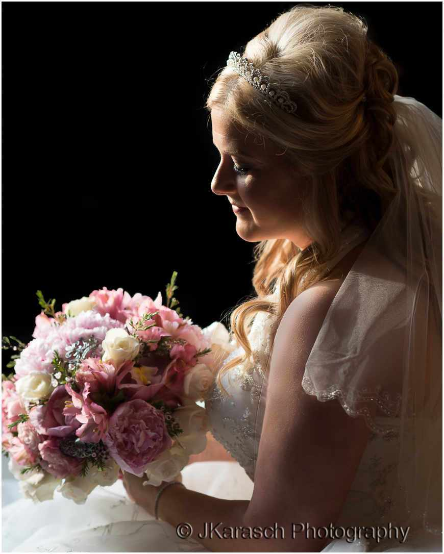 Bridal Portrait at Louisiana Castle