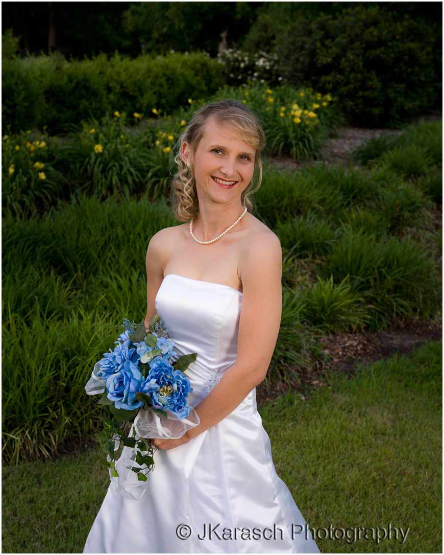 Bridal Portrait at Hopeland Gardens