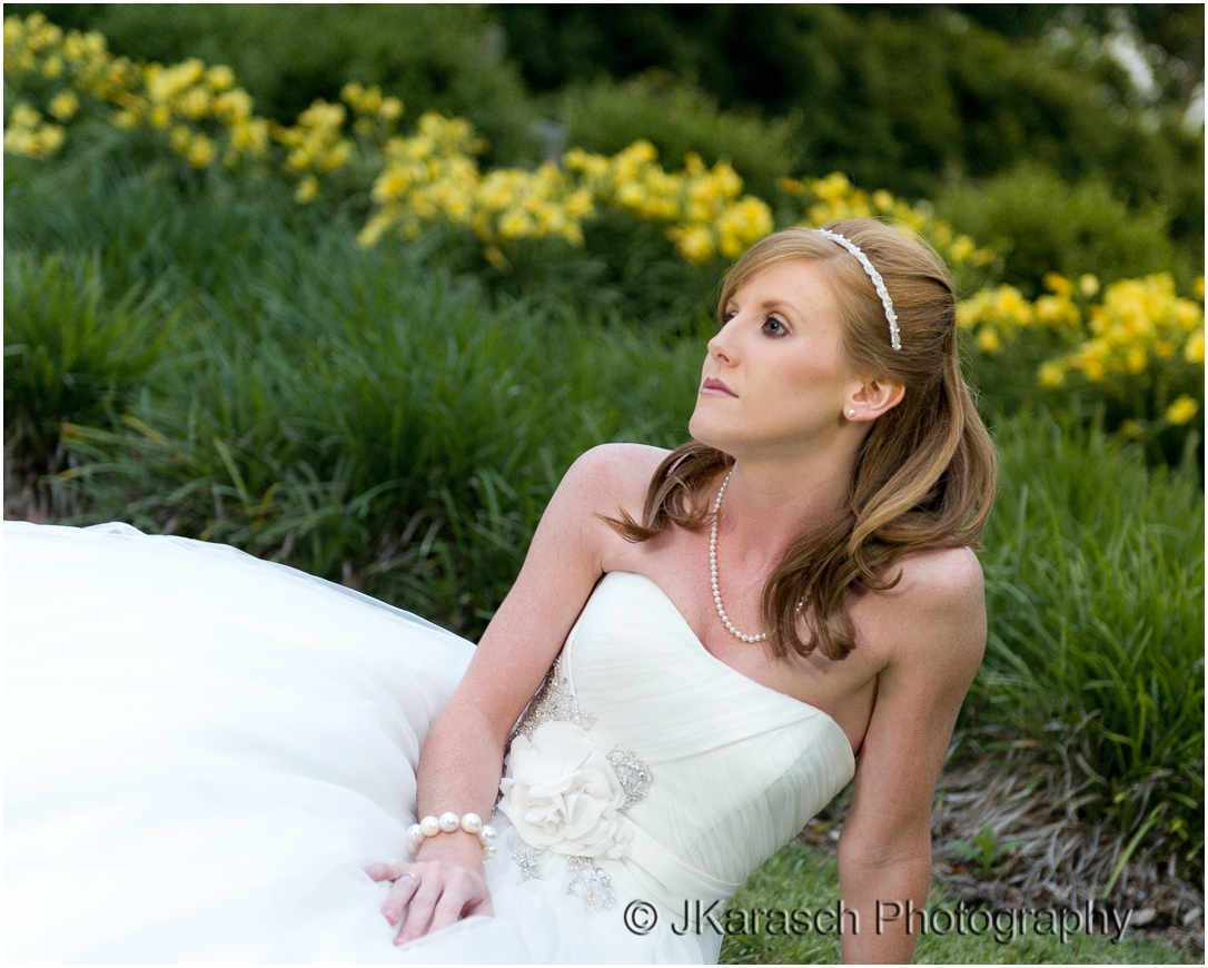 Hopeland Gardens Bridal Portrait