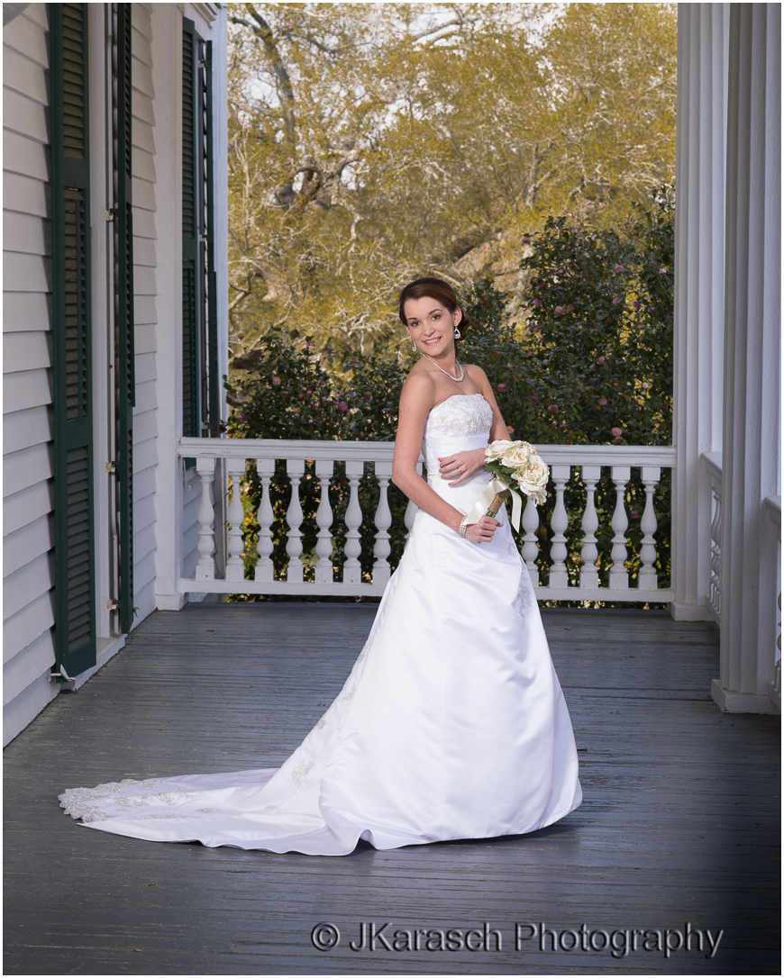 Bridal Portrait at Redcliffe Plantation